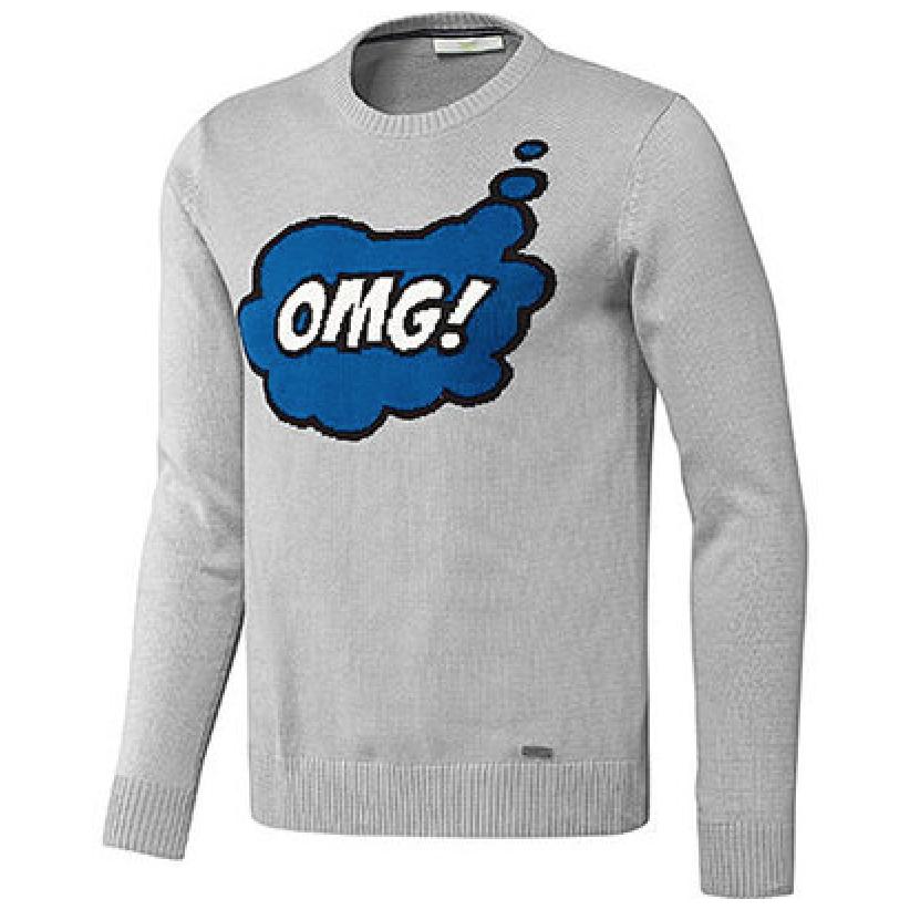 omg oh my god tom daley adidas sweater