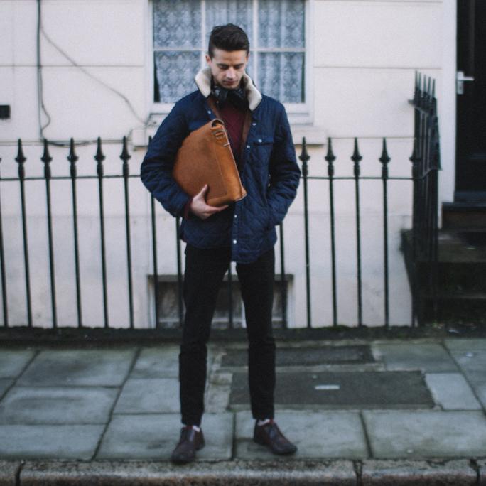 Jacamo Quilted Coat london fashion blogger 2015-14