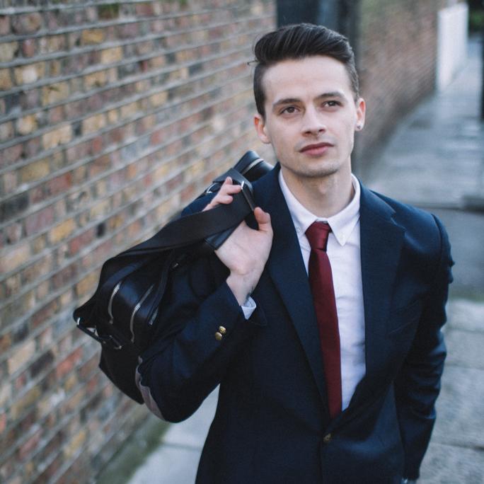 davidoff business satchel for men 2015