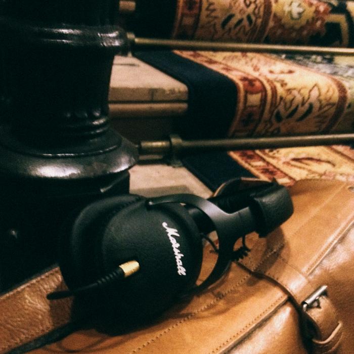 marshall headphones lookbook