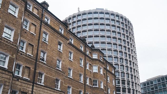 london city central buildings brutalist architecture blogger