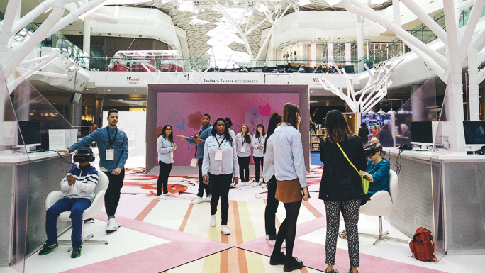 westfield vr virtual reality shopping oculus rift fashtech