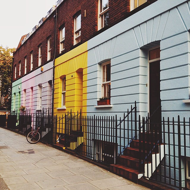 pastel colours architecture camden