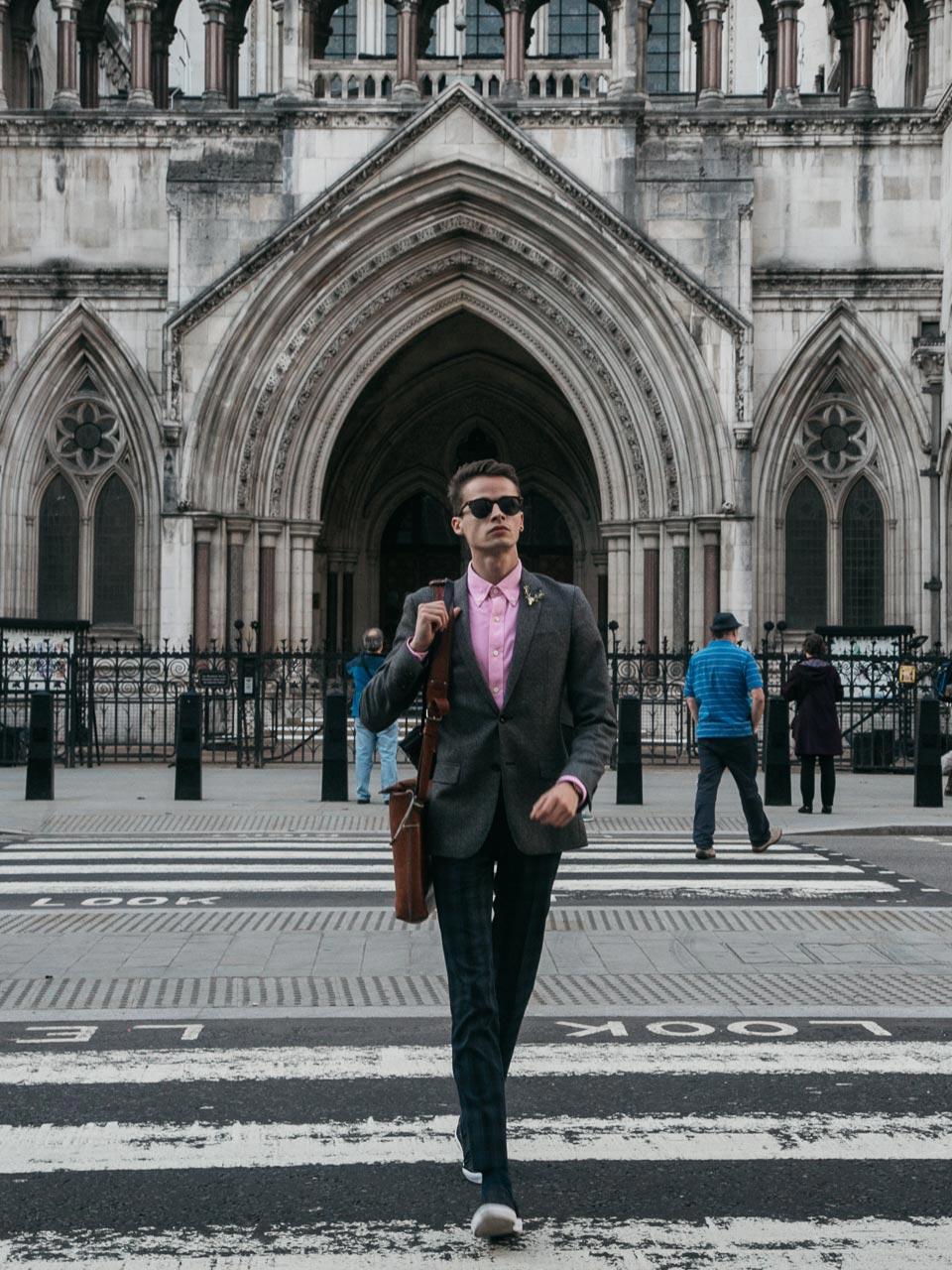 St Paul's Cathedral london blogger lookbook menswear