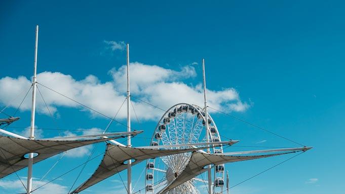 blue skies in brighton