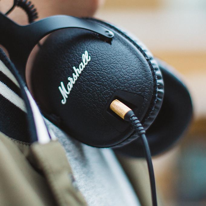 marshall headphones blogger