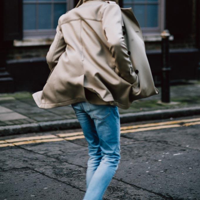trench coat london