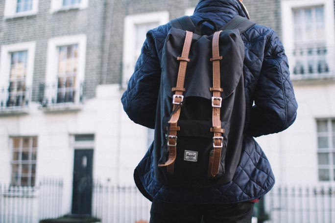 herschel supply backpack style division