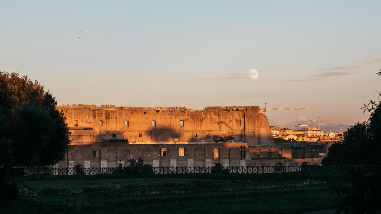 sunset over rome explore travel