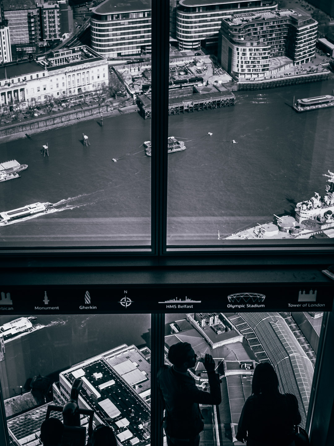 the shard black and white photography london