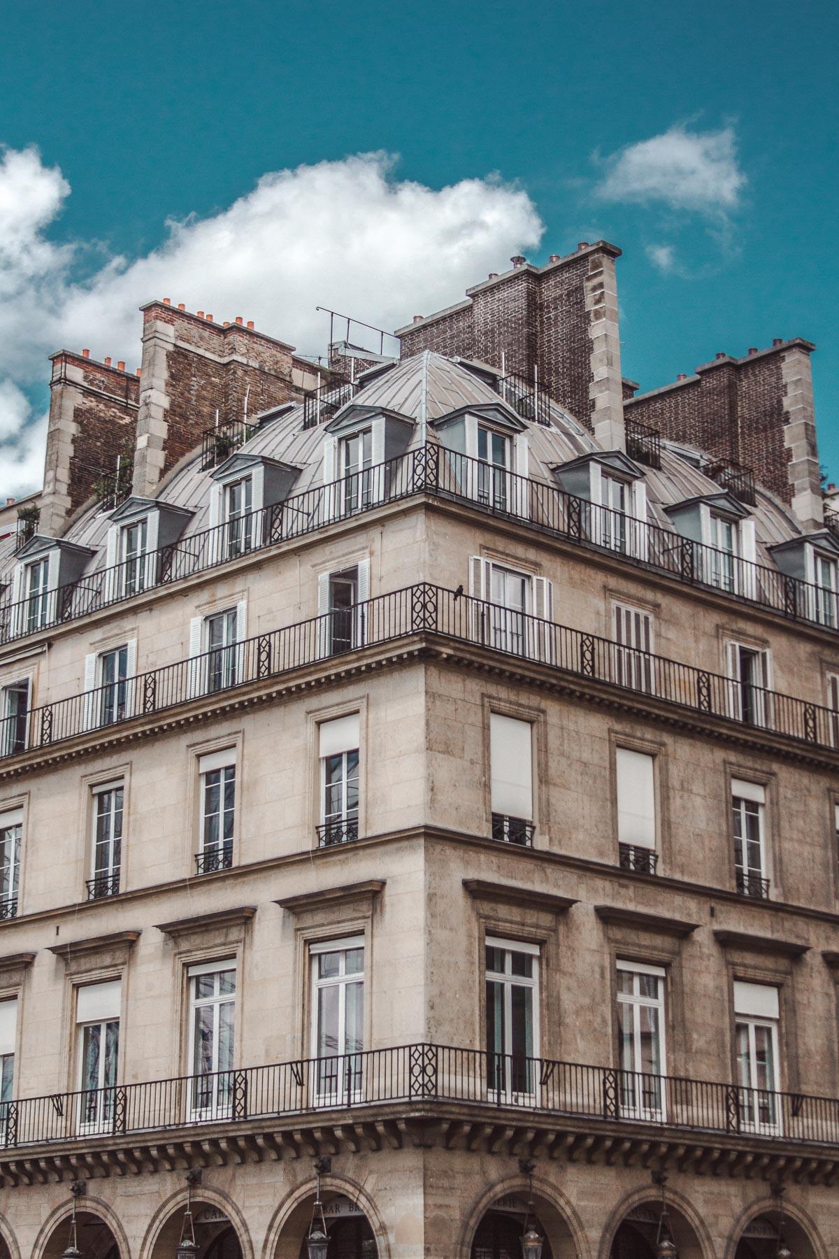 paris architecture 18th century