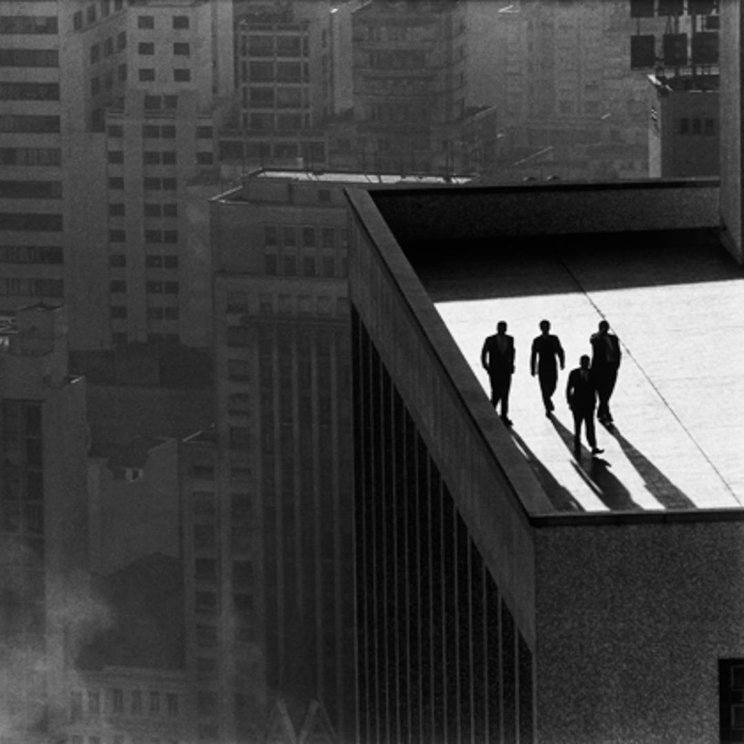 men on rooftop