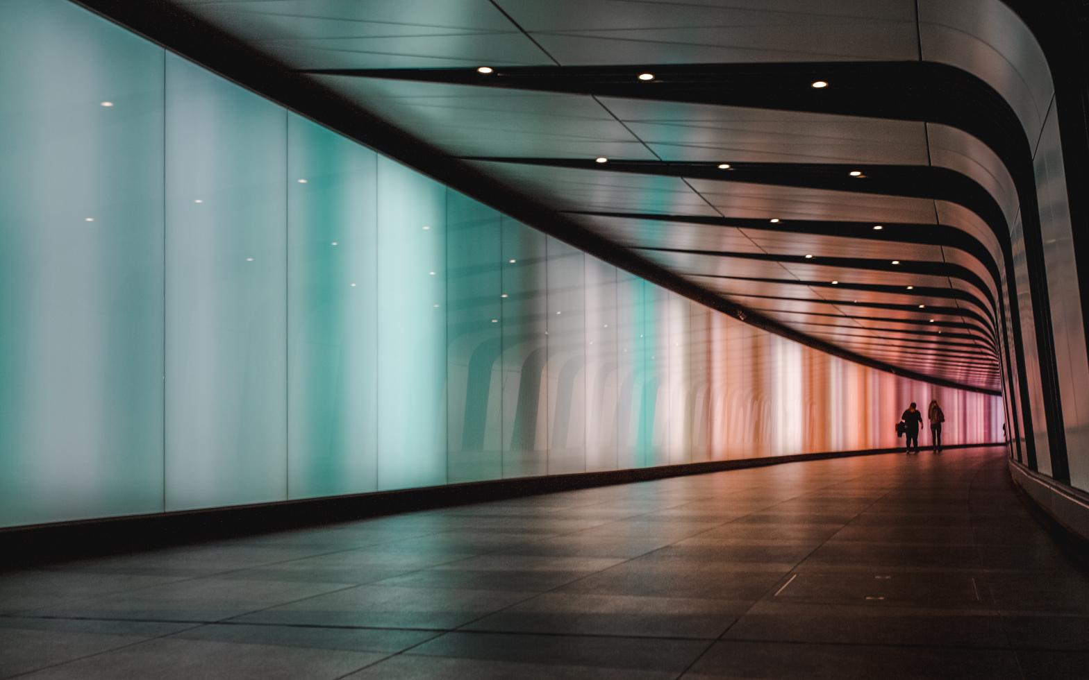 exploring london rainbow tunnel canon 5d dvsn-5