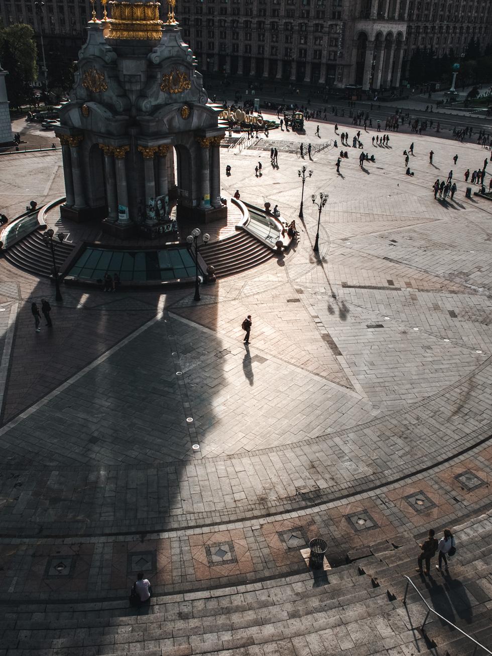 ukraine kiev independence monument