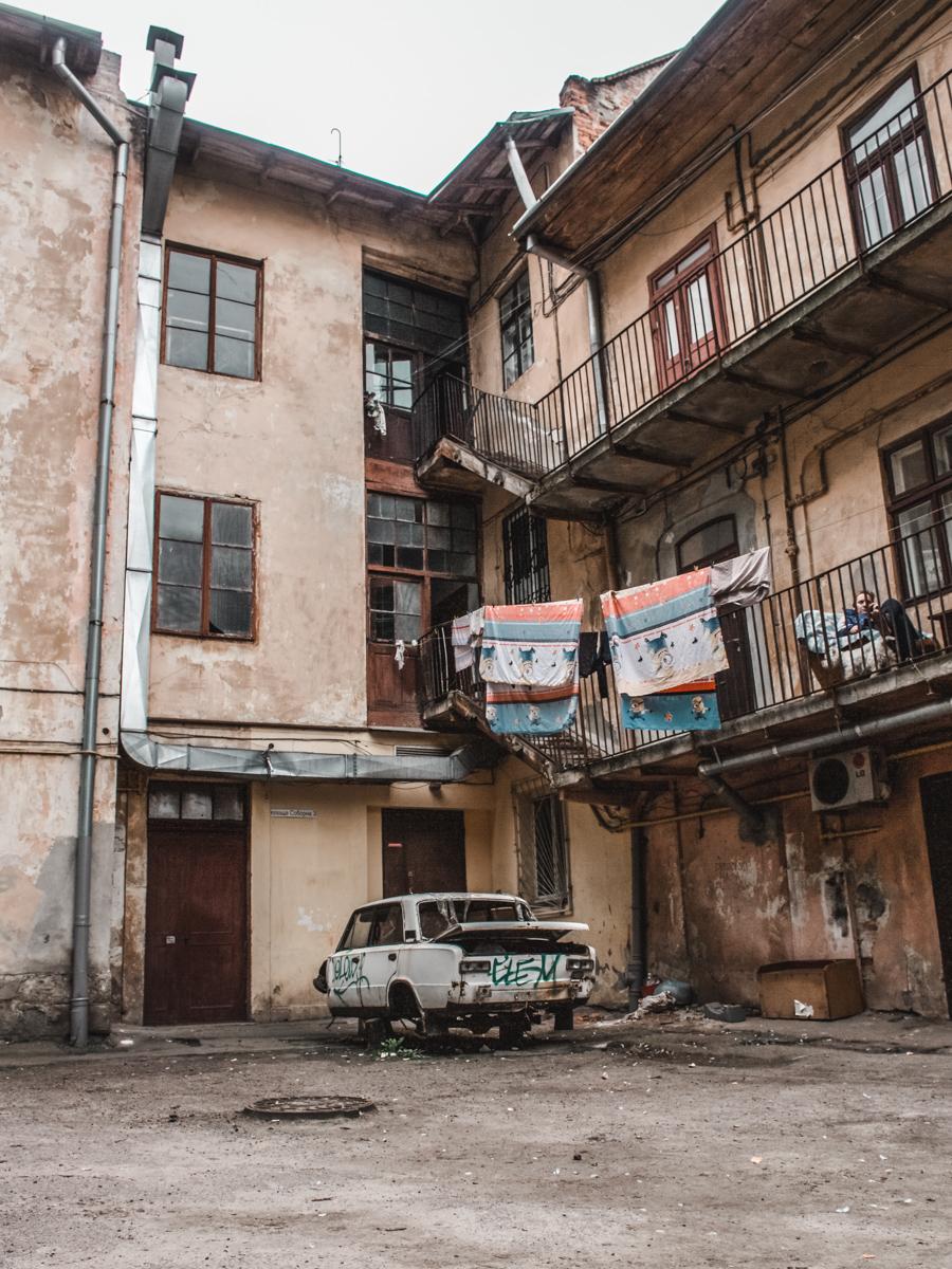 lviv Львів streets