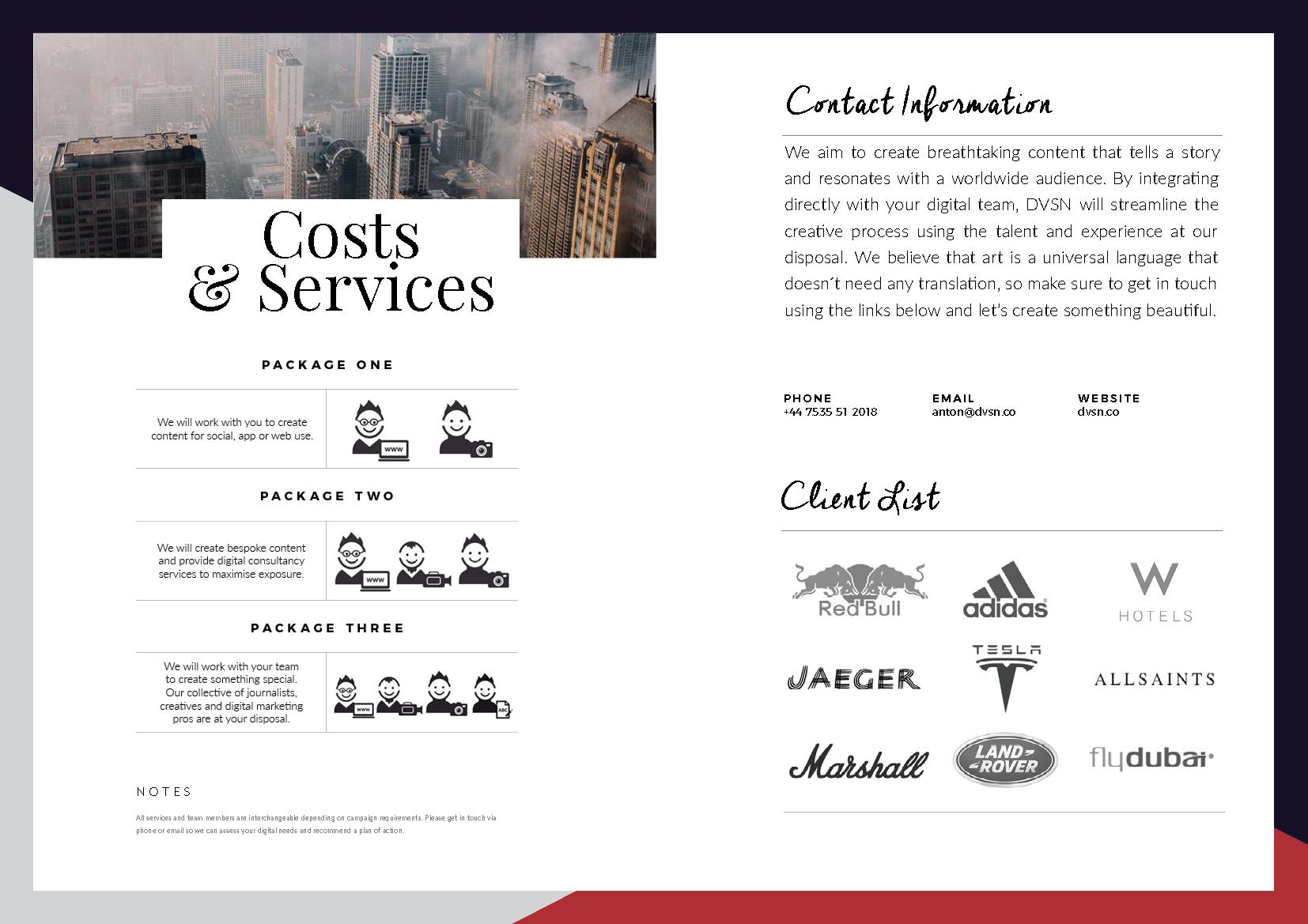 DVSN Collective Services
