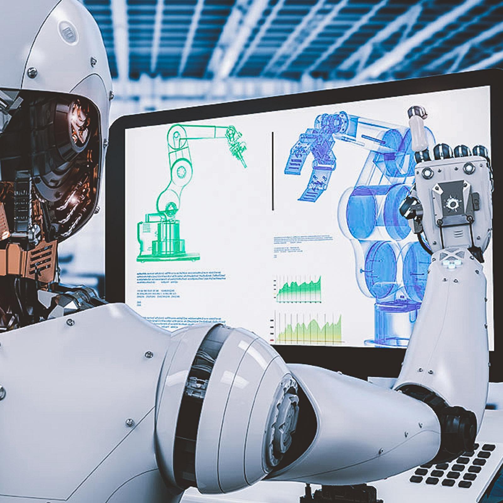 machine learning ai self improvement robot